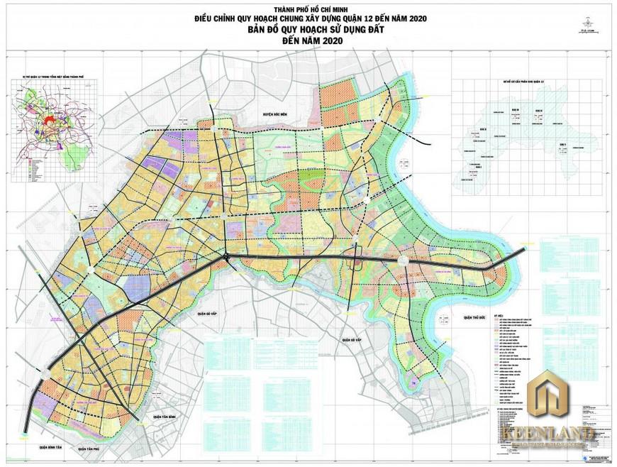 Bản đồ quy hoạch quận 12