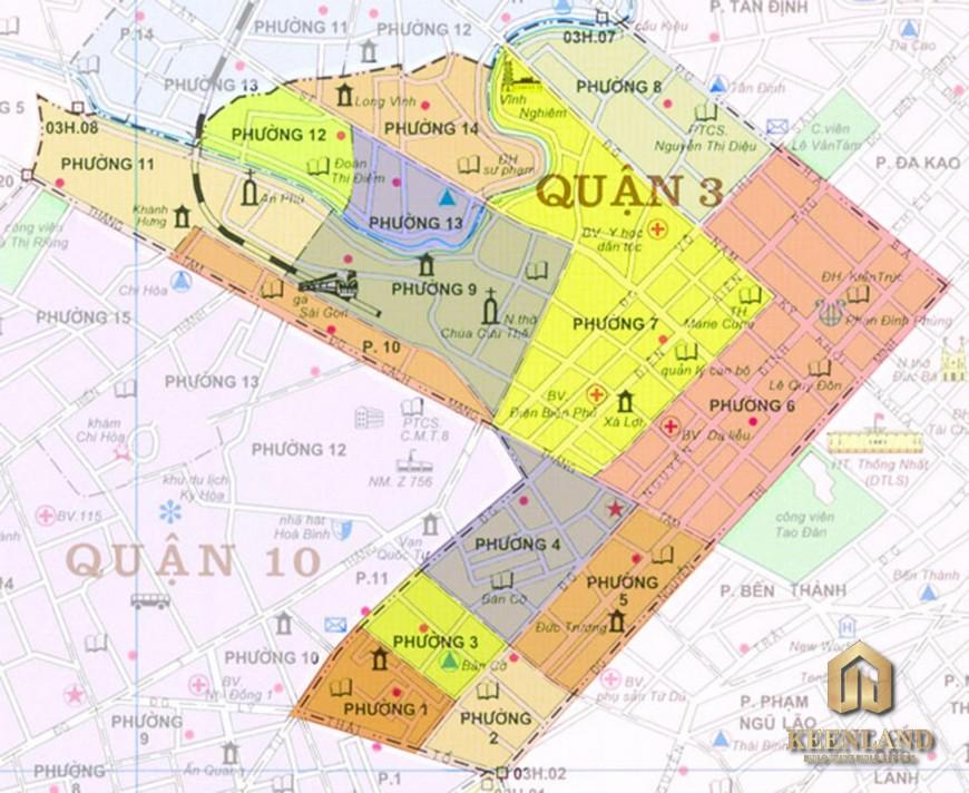 Bản đồ quy hoạch quận 3