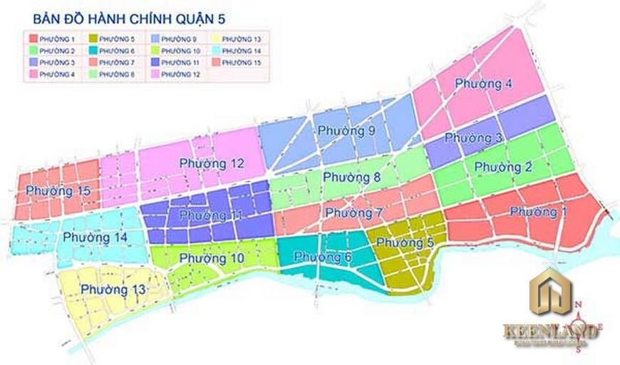 Bản đồ quy hoạch quận 5