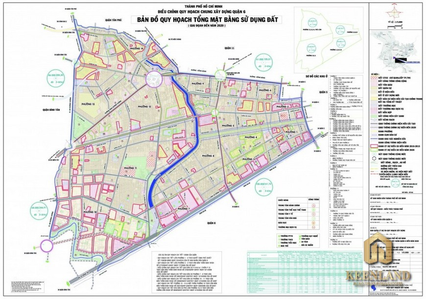 Bản đồ quy hoạch quận 6