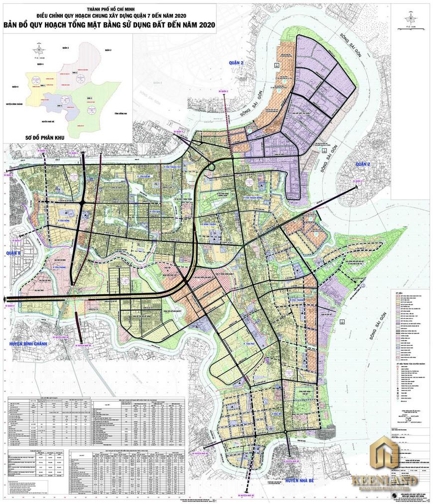 Bản đồ quy hoạch quận 7