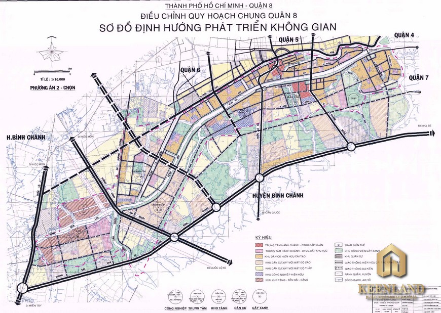 Bản đồ quy hoạch quận 8