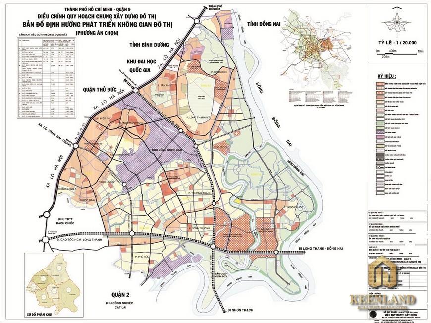 Bản đồ quy hoạch quận 9