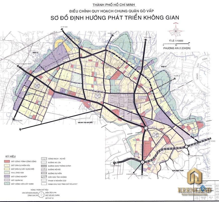 Bản đồ quy hoạch quận Gò Vấp