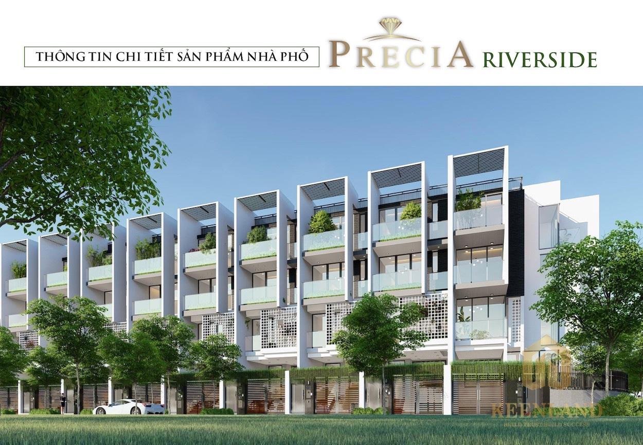 Phối cảnh dự án nhà phố Precia Riverside Quận 2