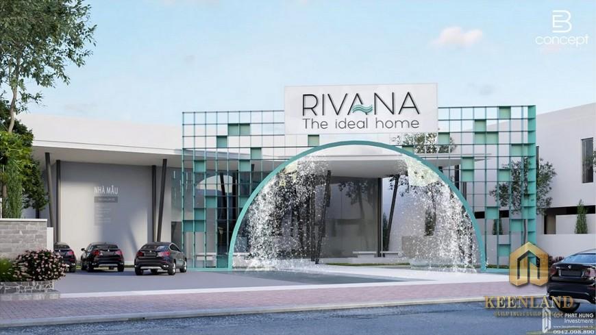 Mặt bằng dự án căn hộ The Rivana