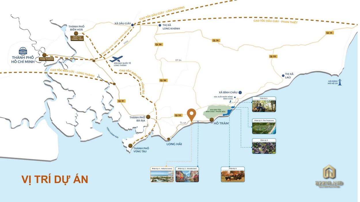 Mua bán cho thuê dự án phân khu Habana Island Hồ Tràm