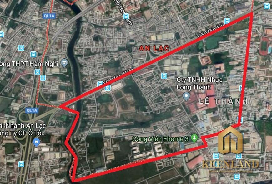 Bản đồ quy hoạch quận Bình Tân