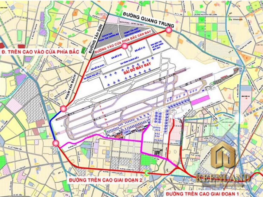Bản đồ quy hoạch quận Tân Bình