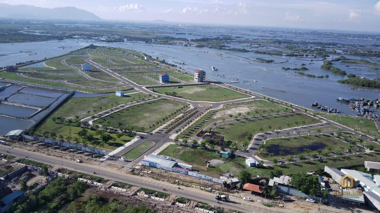 Vị trí dự án Marine City nhìn từ trên cao