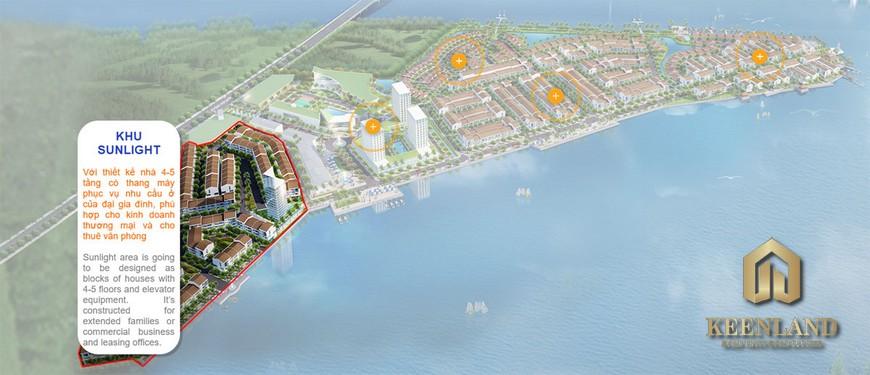 Mặt bằng dự án Marine City