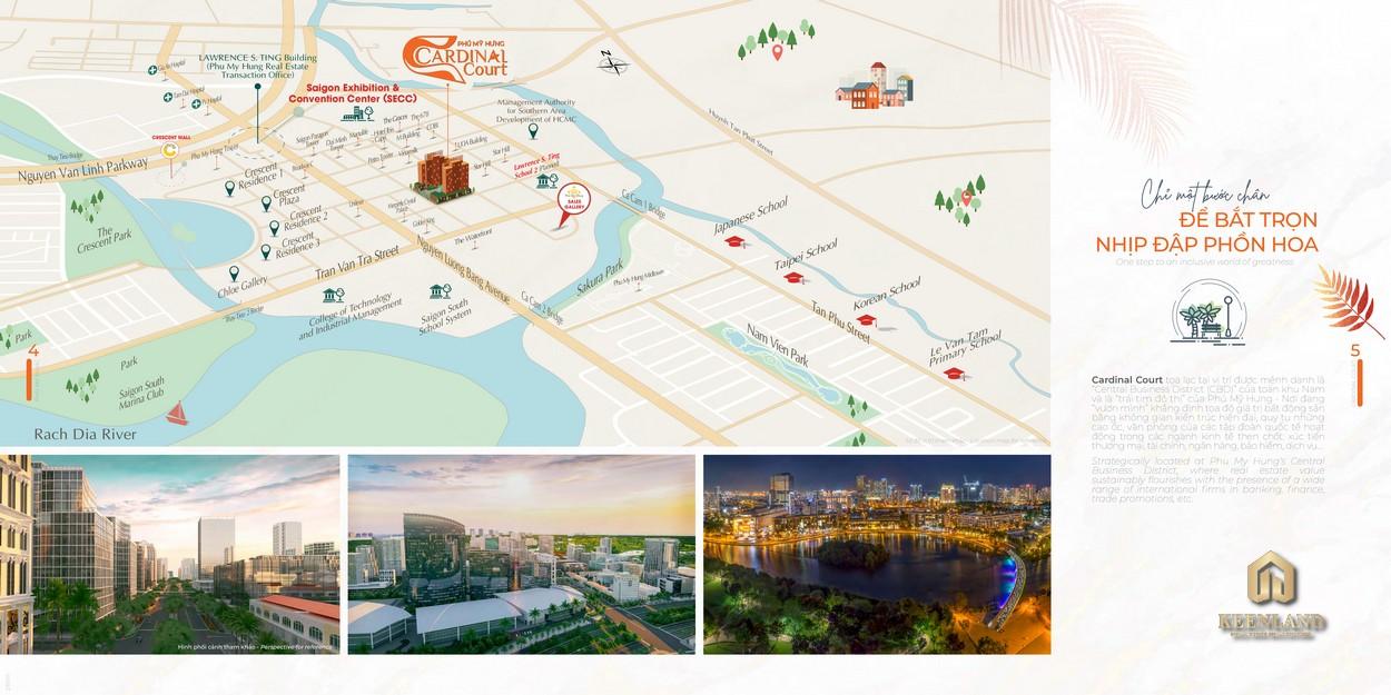 Mua bán cho thuê dự án Cardinal Court Phú Mỹ Hưng - Hotline 0949 893 893