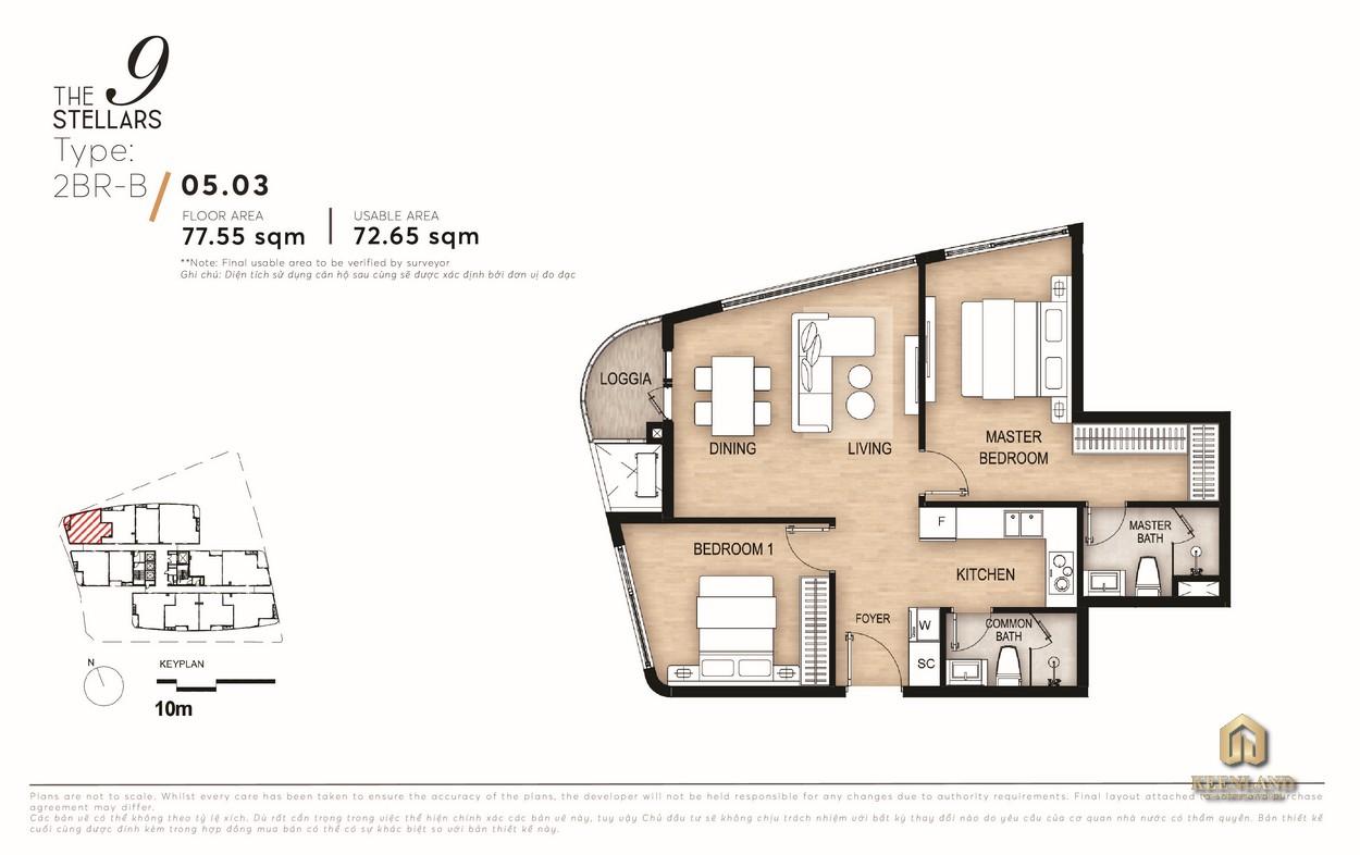 Mua bán cho thuê dự án căn hộ The 9 Stellars Quận 9