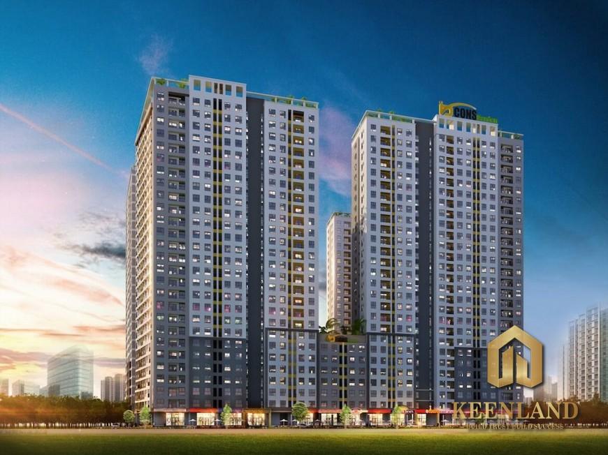 Tiến độ xây dựng căn hộ Bcons Garden tháng 1 năm 2021