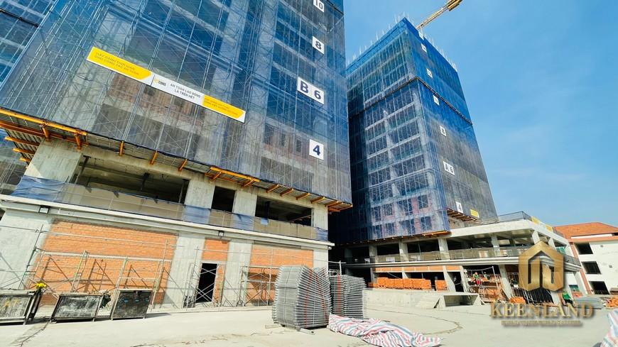 Tiến độ xây dựng Bcons Green View Tháng 2 Năm 2021