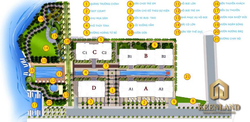 Giá bán dự án 4S Riverside Linh Đông