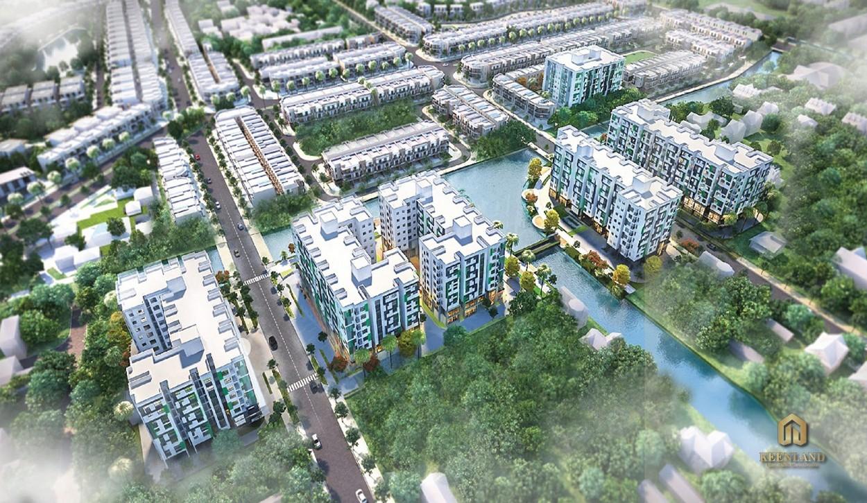 Mua bán cho thuê dự án Dragon E-Home Quận 9 chủ đầu tư Phú Long