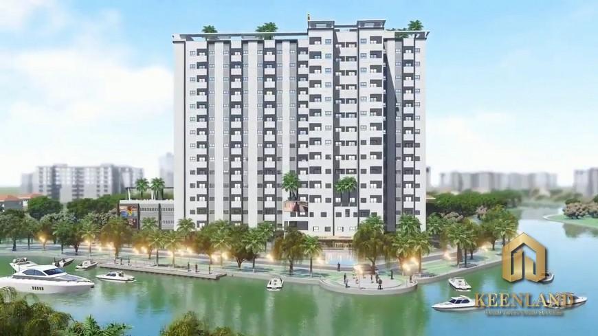 Vị trí dự án căn hộ TDH Bình Chiểu