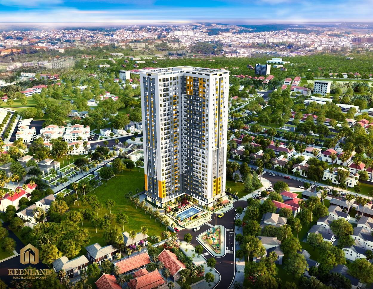 Phối cảnh dự án căn hộ Bcons Sala Dĩ An