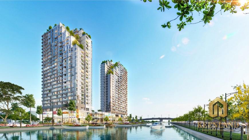 Mặt bằng dự án căn hộ D Aqua|