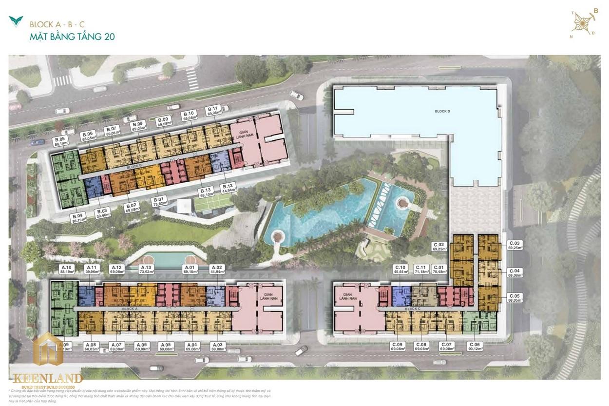 Mặt bằng dự án căn hộ lavita Thuận An Bình Dương