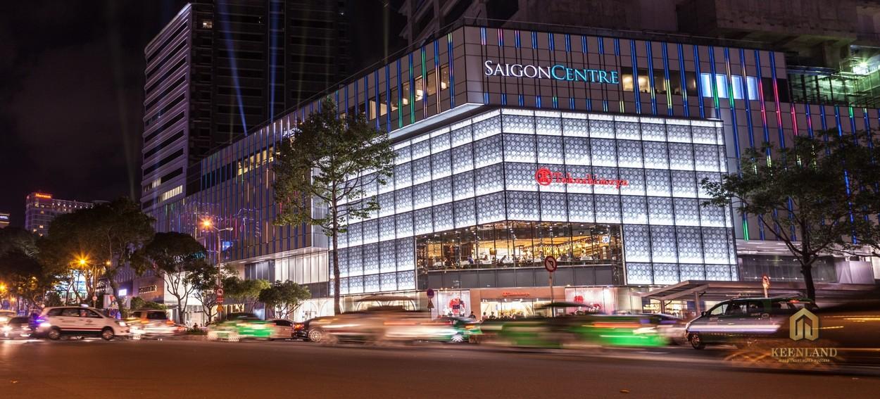 TTTM Saigon Centre - Tiện ích ngoại khu dự án Grand Marina