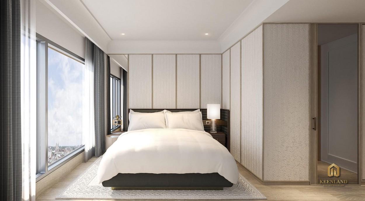 Nhà mẫu dự án Grand Marina - Phòng ngủ hiện đại