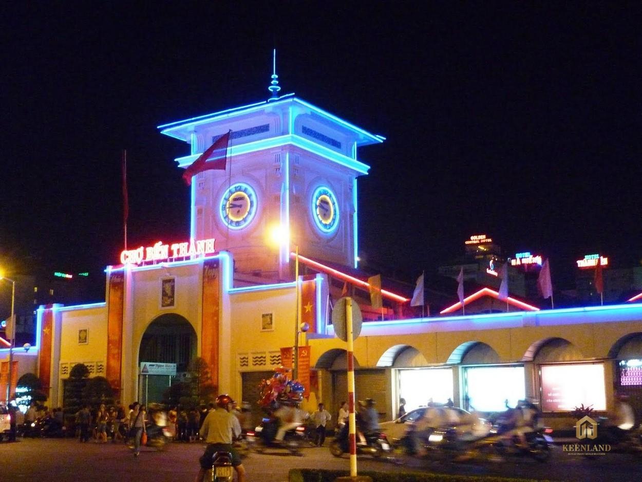 Chợ Bến Thành liền kề dự án Grand Marina Quận 1