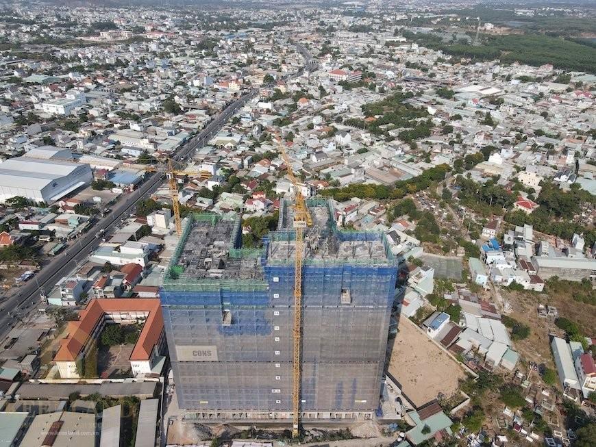 Tiến độ xây dựng Bcons Green View tháng 4