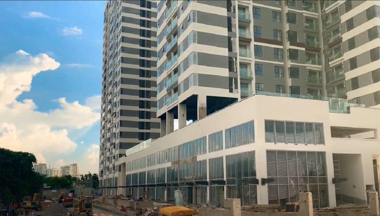Tiến độ xây dựng căn hộ D'lusso Quận 2