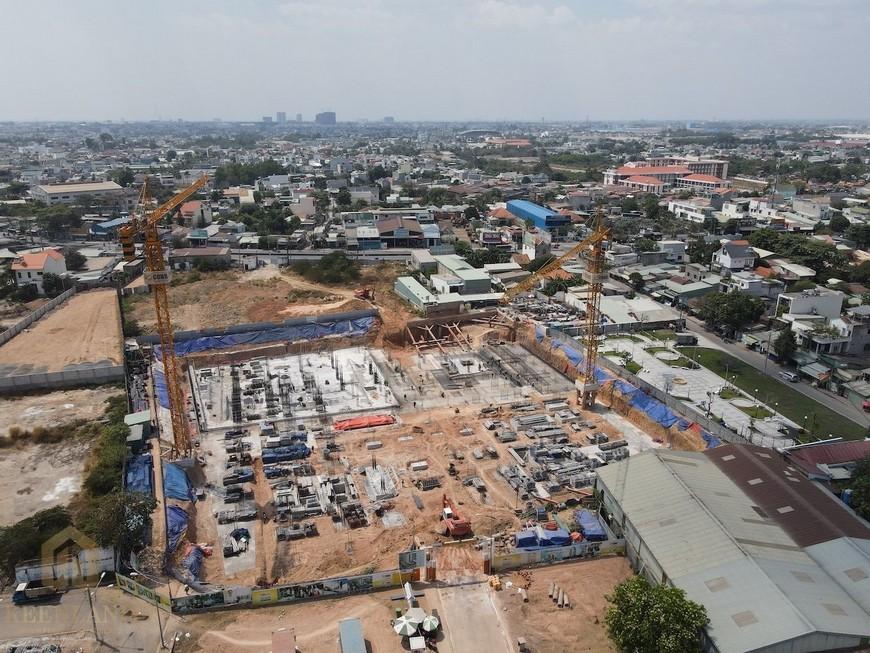 Tiến độ xây dựng dự án Bcons Plaza tháng 04