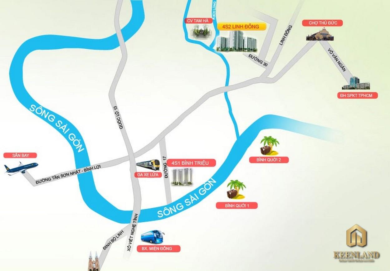 4S Riverside Garden Bình Triệu