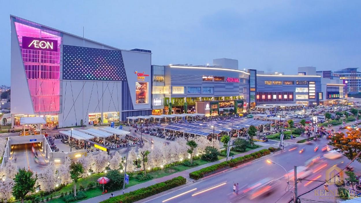 Trung tâm thương mại Aeon Mall Bình Dương