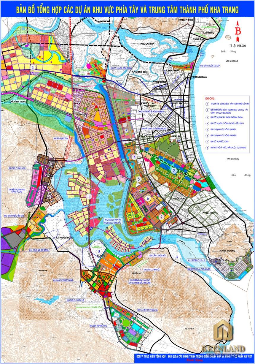Bản đồ quy hoạch Nha Trang