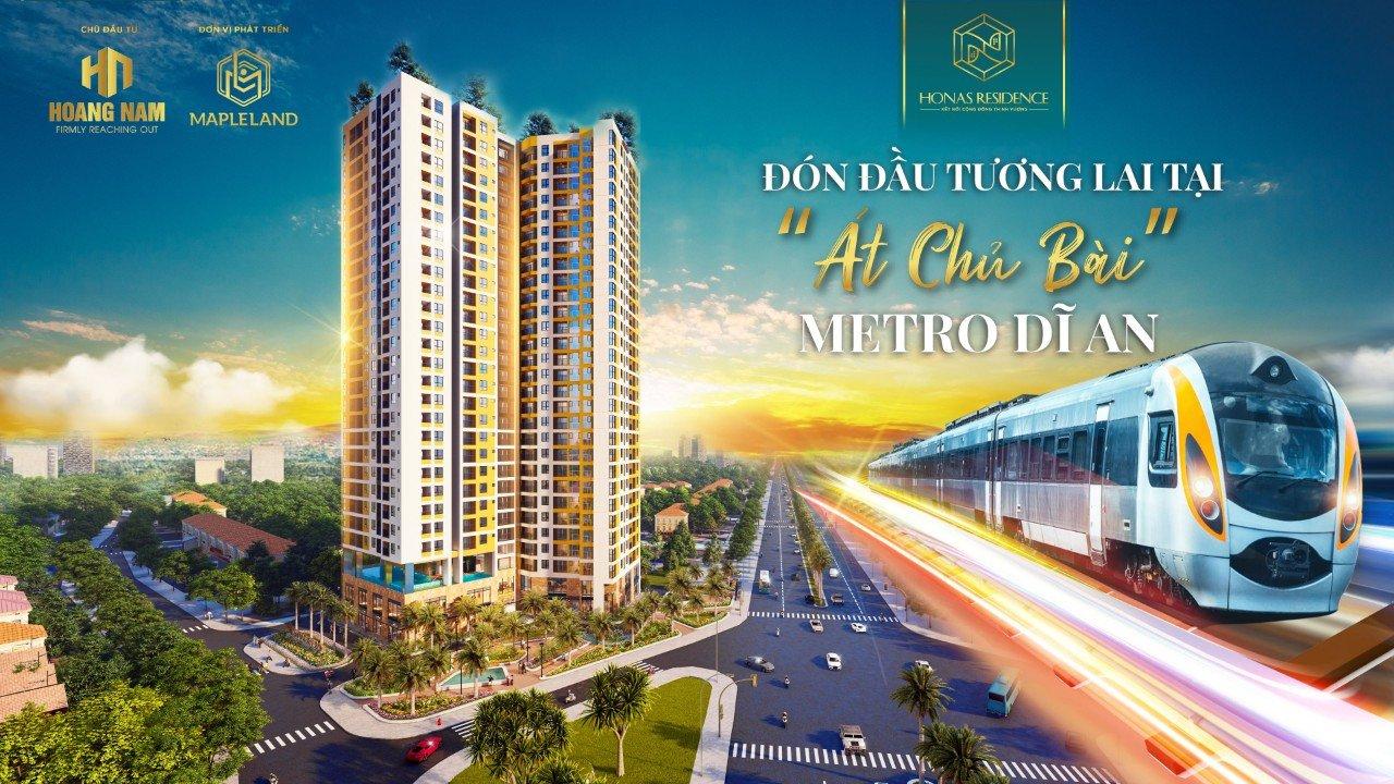 Phối cảnh dự án căn hộ Honas Residence Dĩ An