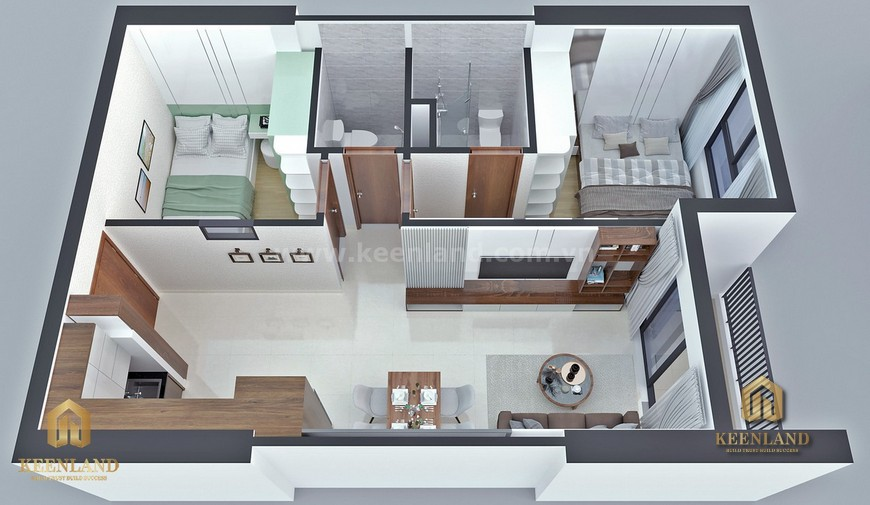 Tiện ích nội khu - Giá bán dự án căn hộ Bcons Sala