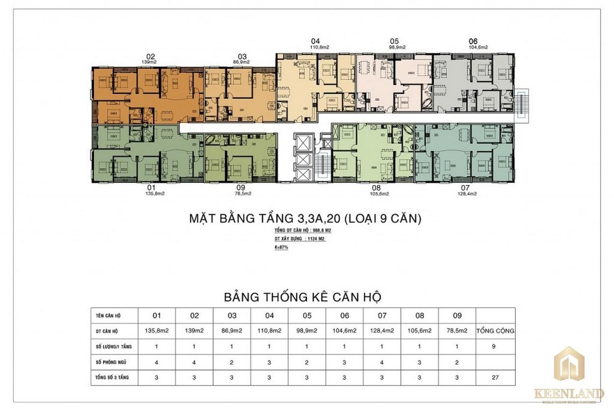 River Gate Residence Quận 4 mat bang can ho river gate 2