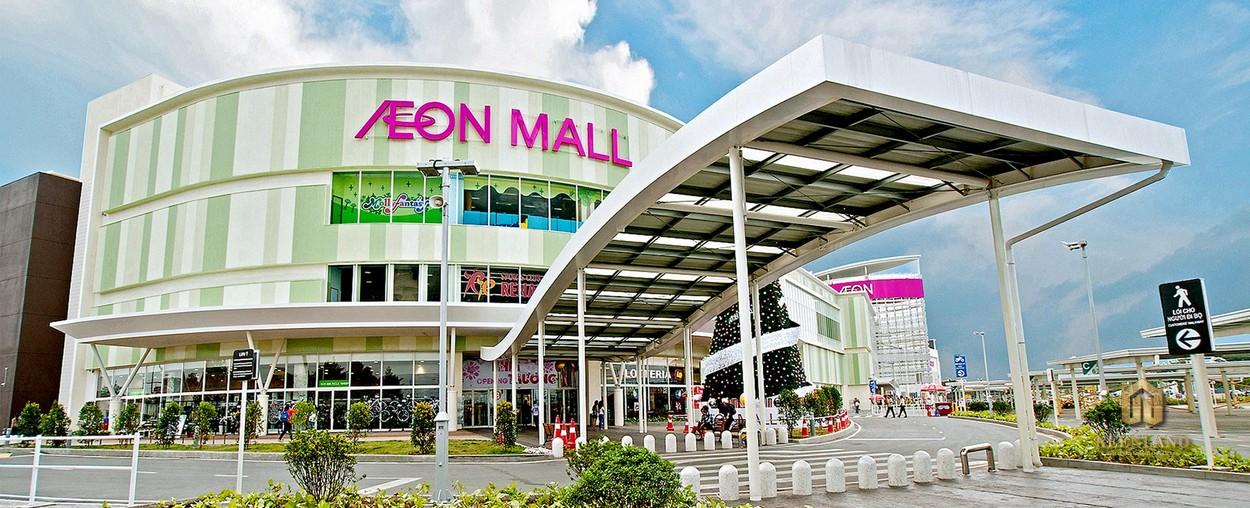 Tiện ích ngoại khu HT Pearl - AEON Mall