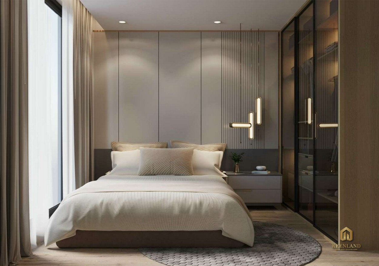Thiết kế phòng ngủ tại dự án HT Pearl