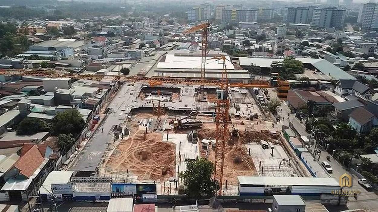 Tiến độ xây dựng dự án HT Pearl Cập nhật 05/2021