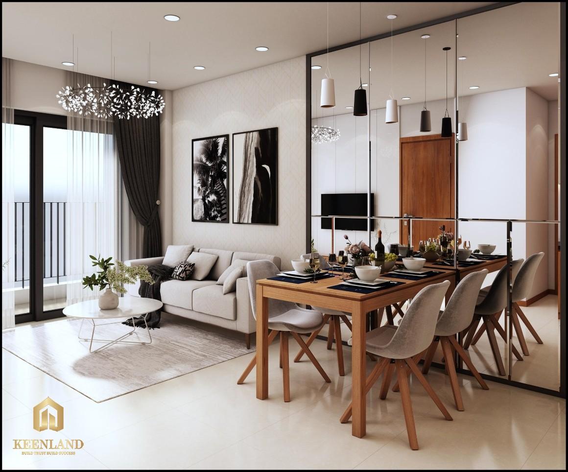 Tổng thể dự án Bcons Garden - nội thất bàn giao chất lượng