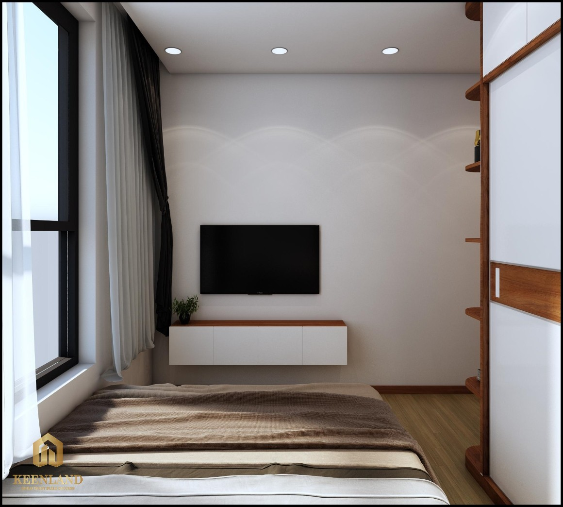 Phối cảnh phòng ngủ dự án Bcons Garden