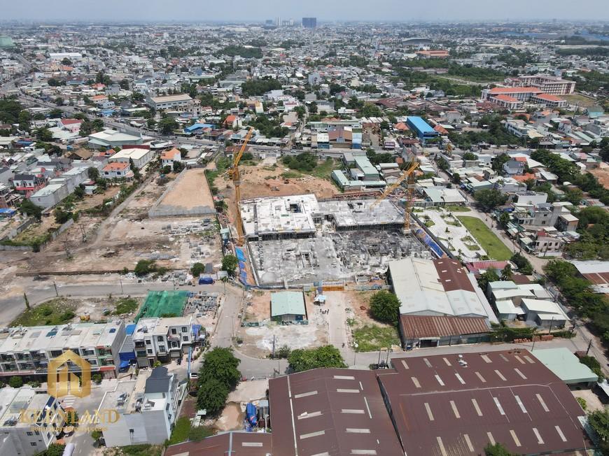 tiến độ xây dựng dự án căn hộ Bcons Plaza tháng 05