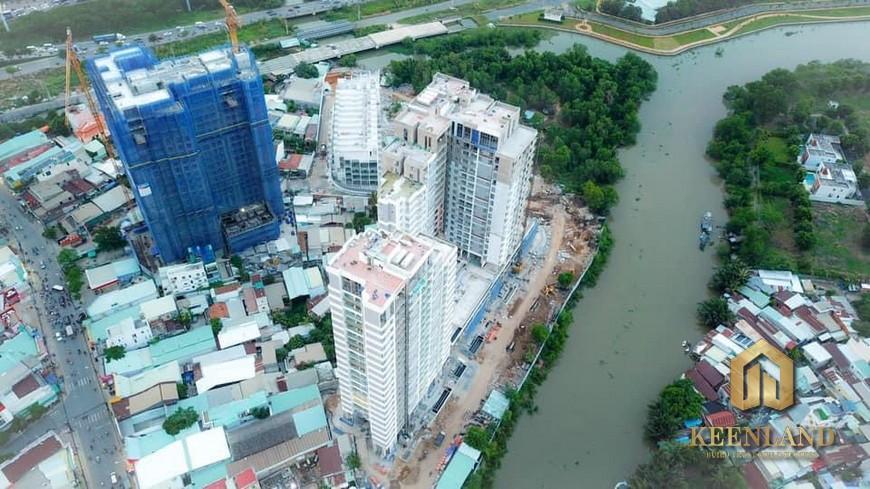 Tiến độ xây dựng dự án D'Lusso Quận 2 tháng 5