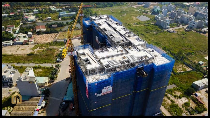 Tiến độ xây dựng dự án Ricca Quận 9 tháng 5