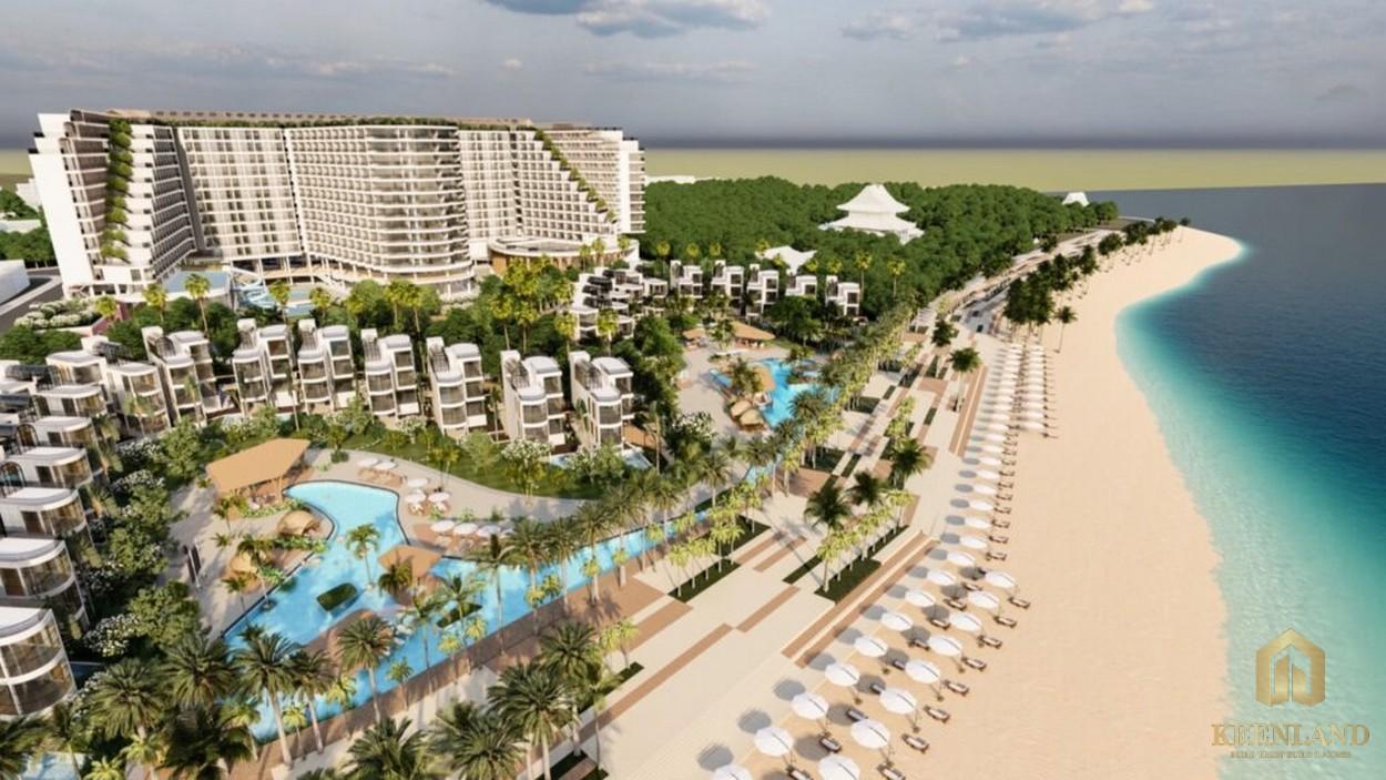 Phối cảnh Khu du lịch nghỉ dưỡng Resort Charm Long Hải