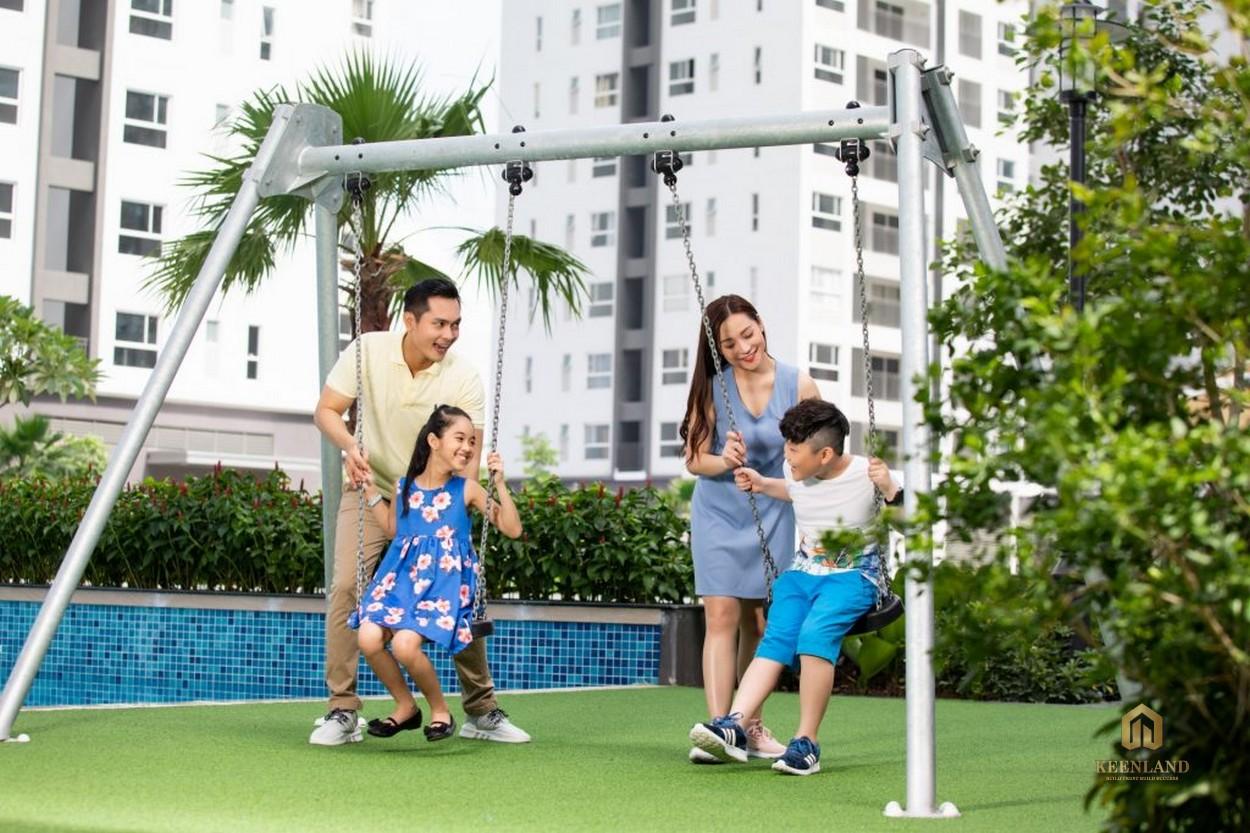 Công viên cây xanh - Tiện ích nội khu dự án Tam Đức Plaza