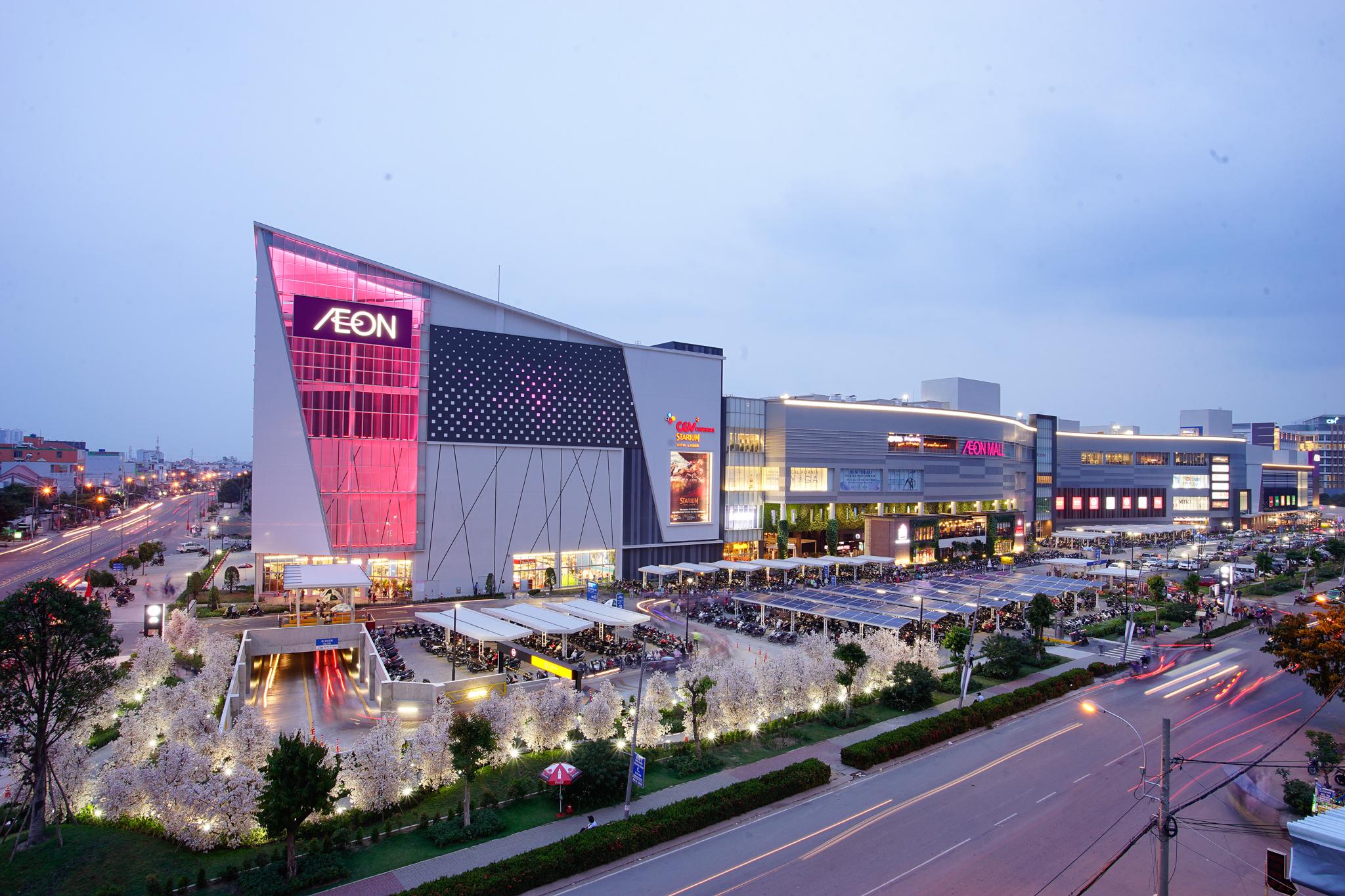 AEON MALL Bình Tân liền kề dự án căn hộ Uni Park