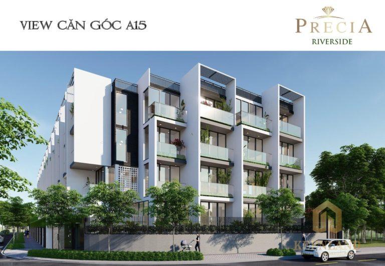 Dự án căn hộ Precia Riverside - chủ đầu tư Minh Thông