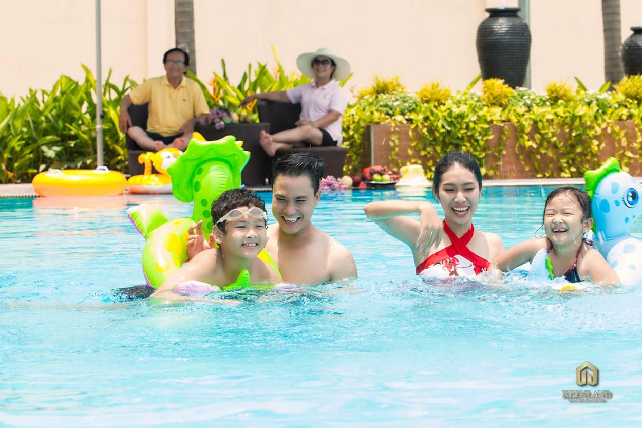 Hồ bơi - Tiện ích nội khu dự án Him Lam Chợ Lớn Quận 6